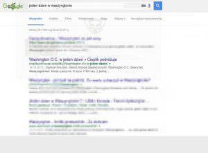 Wyniki wyszukiwania dla hasła 'jeden dzień w Waszyngtonie'