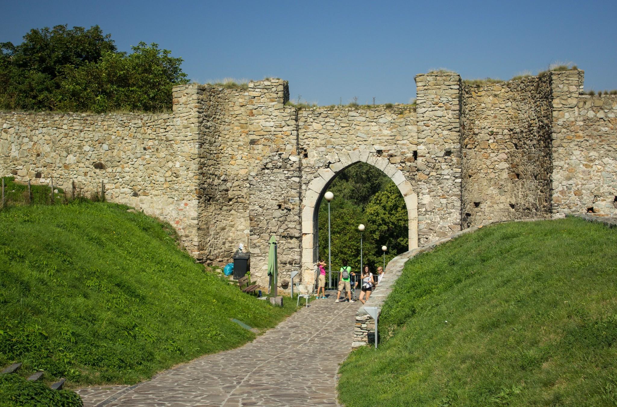 Hrad Devin  – ruiny zamku w miejscu spotkania Morawy z Dunajem