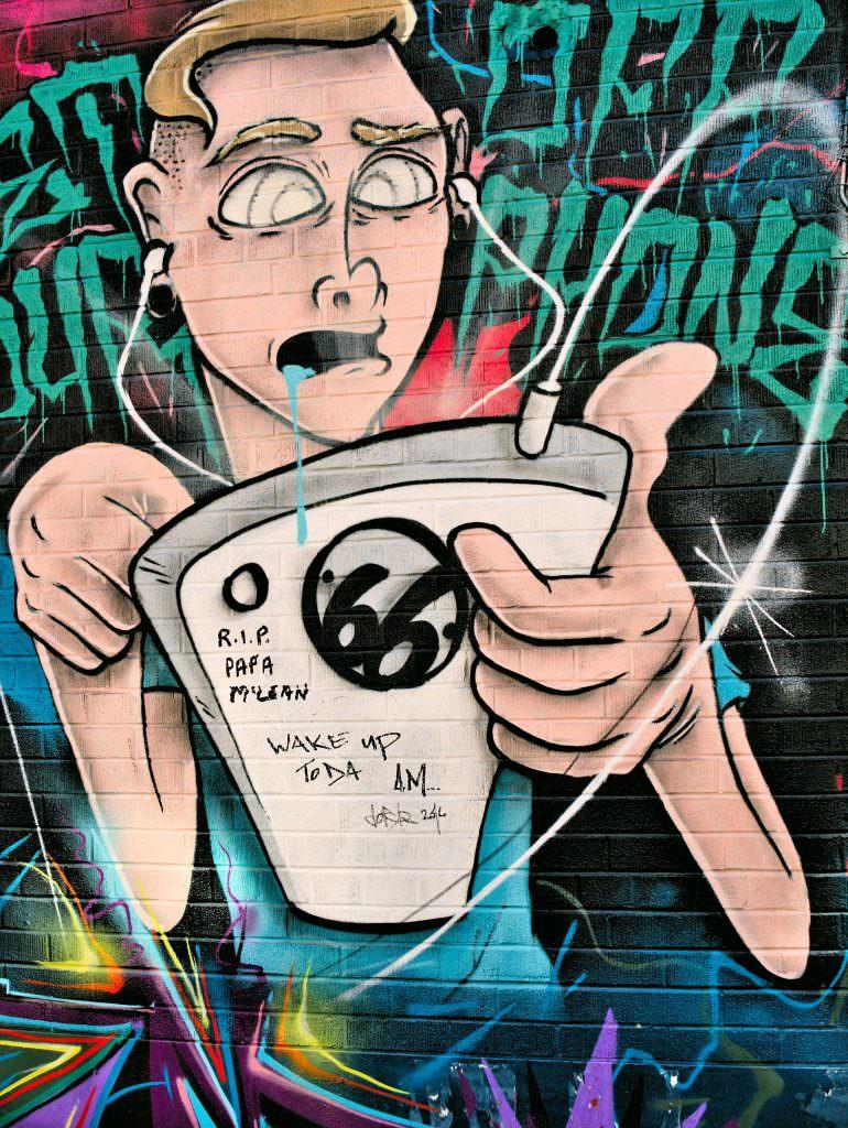 Street Art w Toronto tak właśnie wygląda