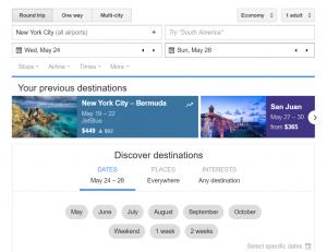 Tanie loty znajdziesz w Google Flights